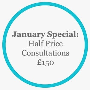 January Special - Half price consultations £150