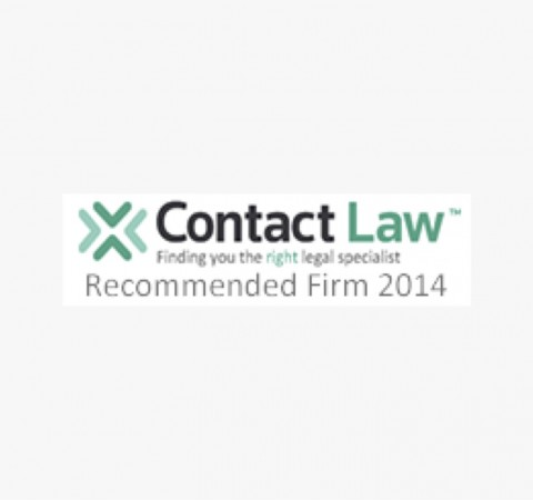 Contact Law recommended firm